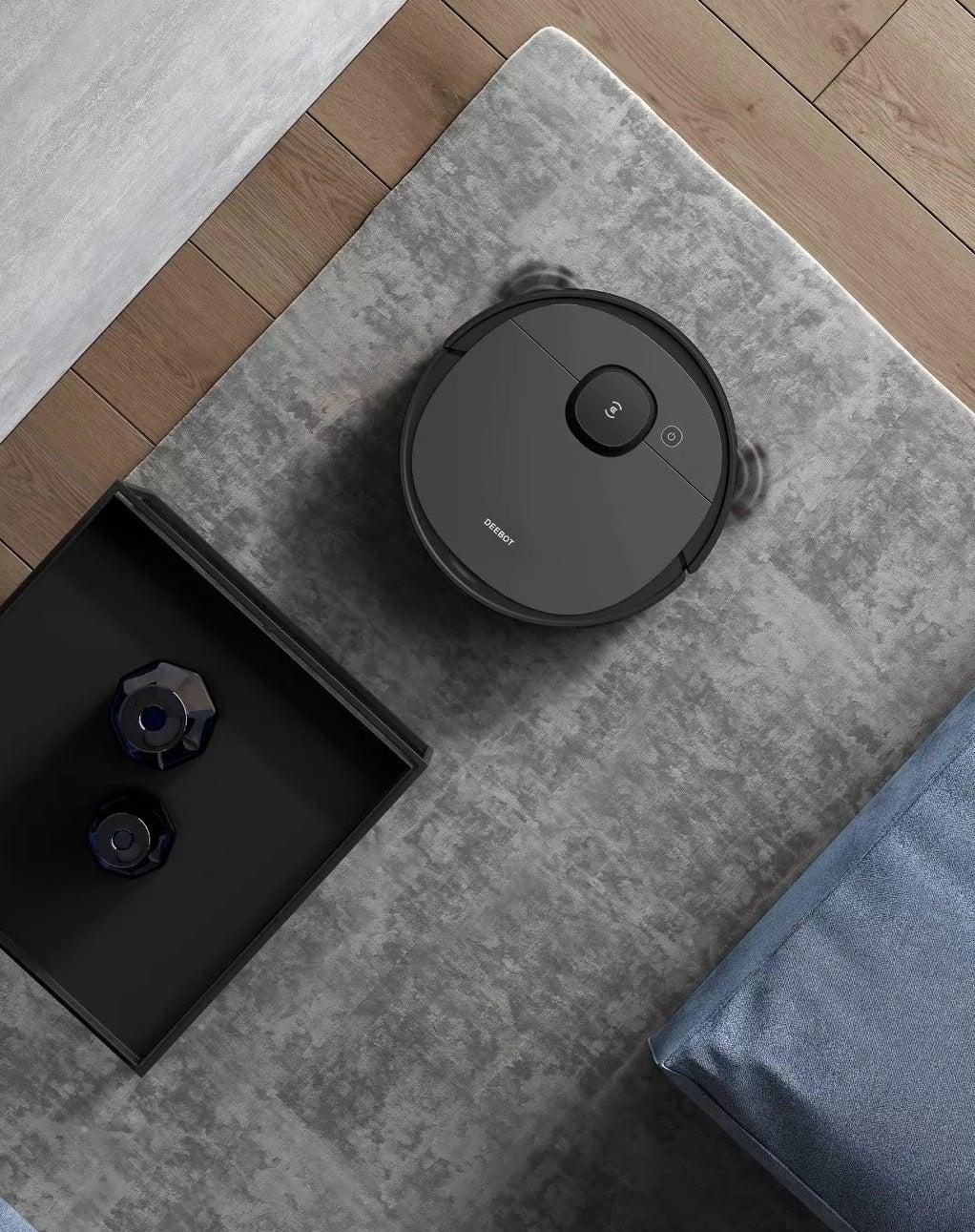 The Deebot robot vacuum