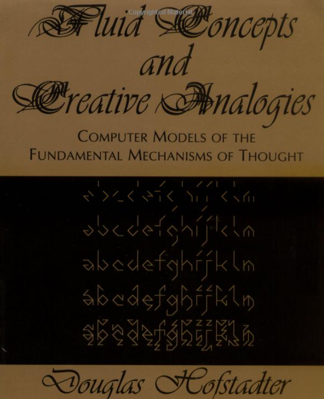 The cover for the book