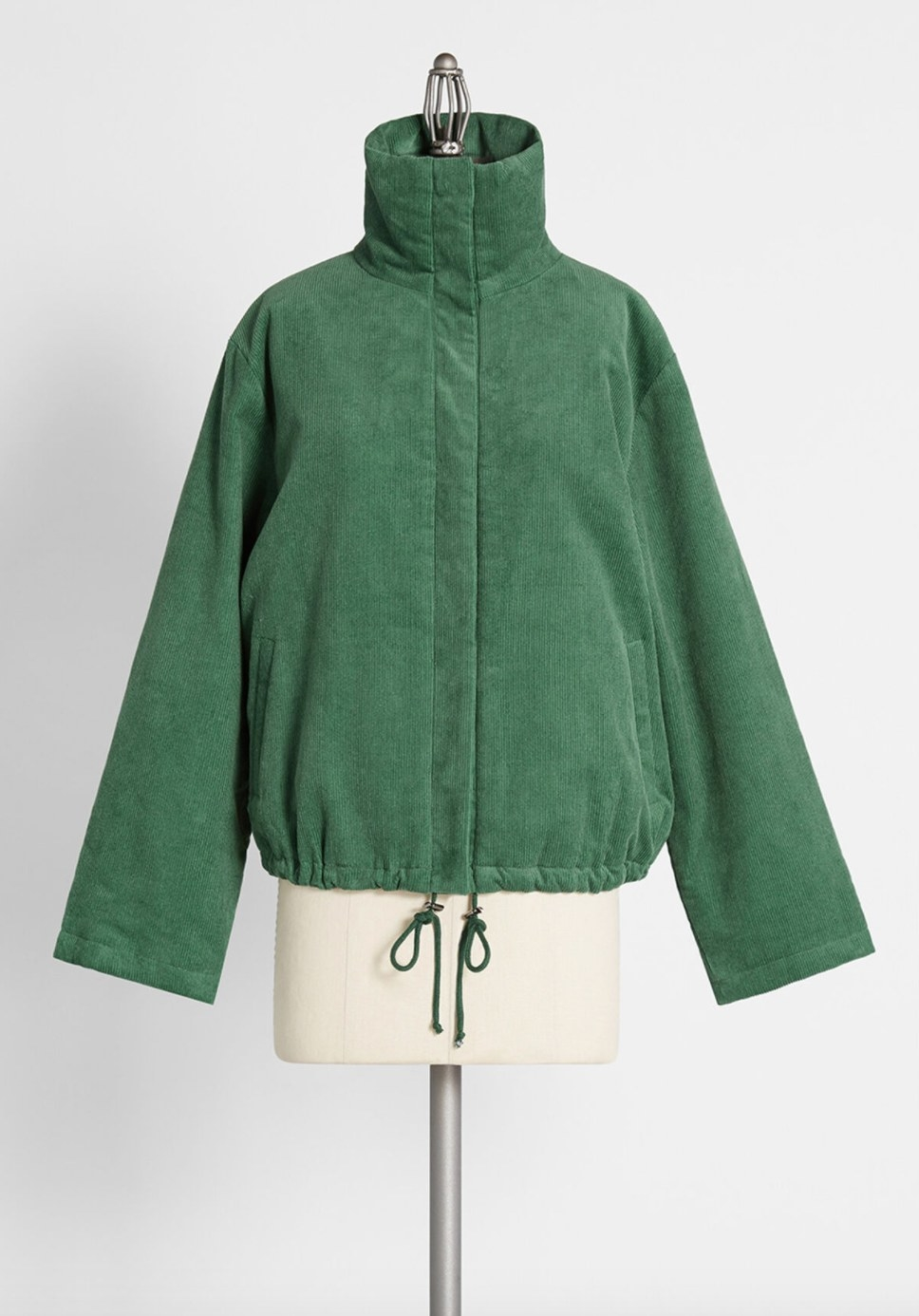 The sugar snap jacket in green