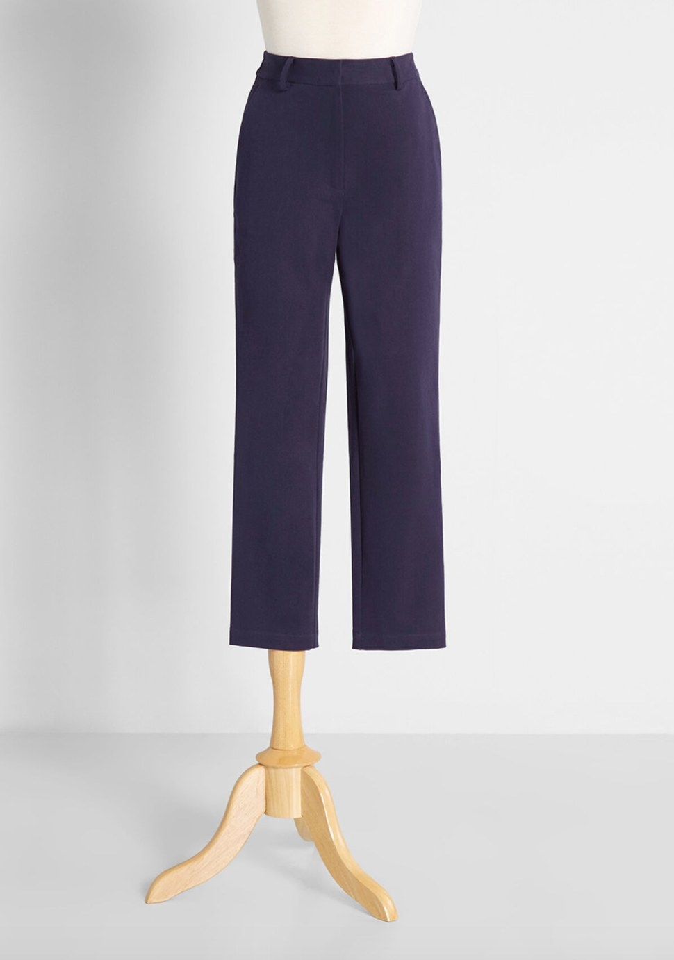 The pair of pants in navy
