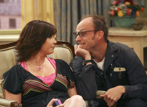 """Arwin stares lovingly at Carey in a scene in """"Suite Life"""""""
