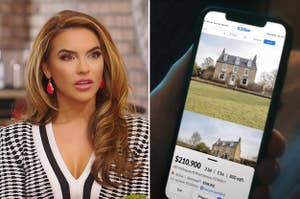 Shocked Chrishell Stause, and a Zillow listing