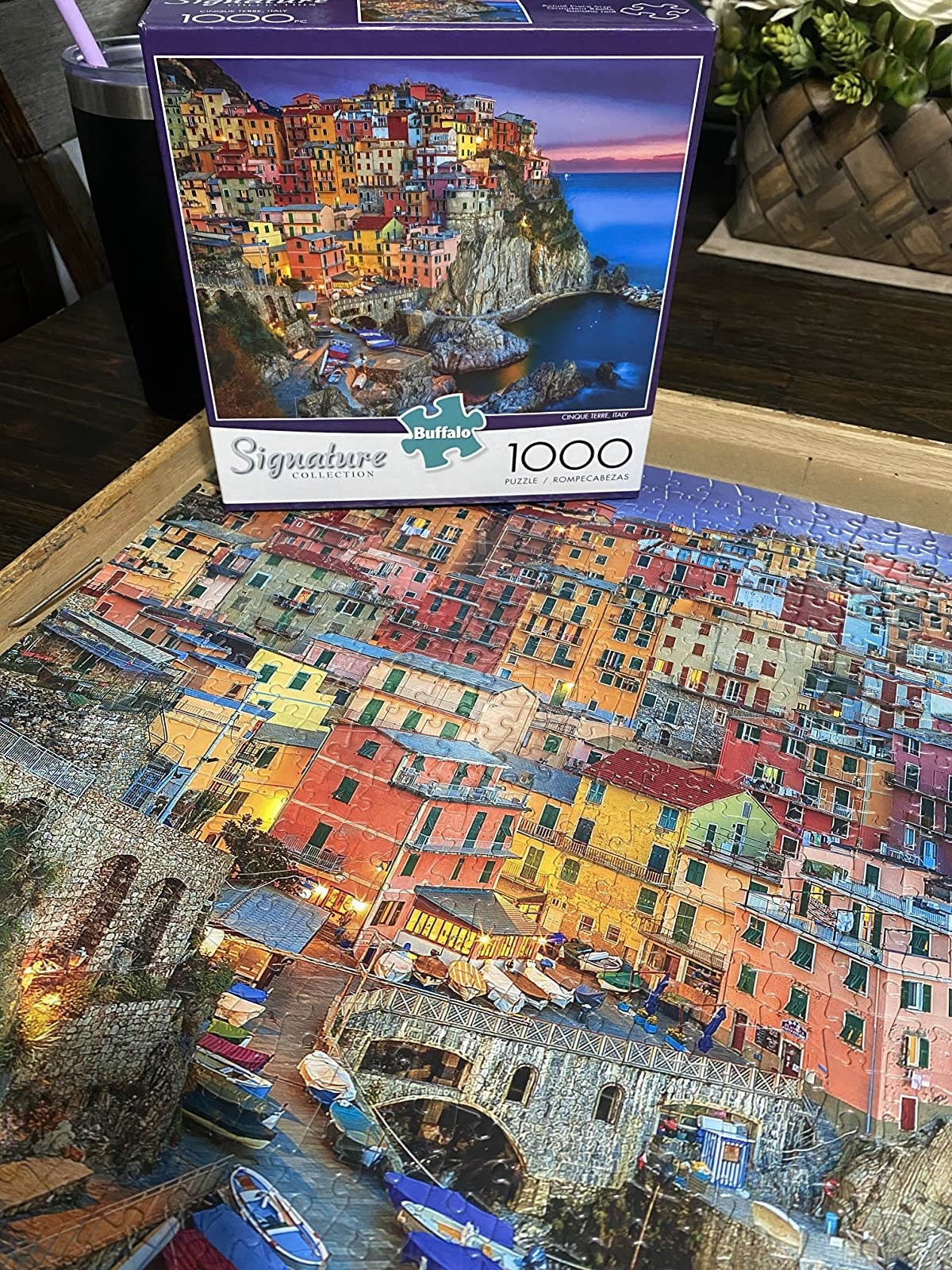 a reviewer's image of the finished puzzle