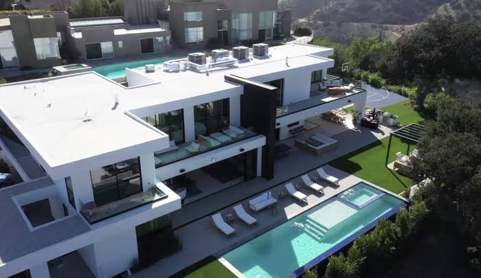 David Dobrik's mansion