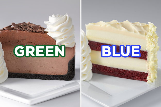 Order Some Cheesecakes From The Cheesecake Factory And Well Guess Your Favorite Color With Astounding Accuracy