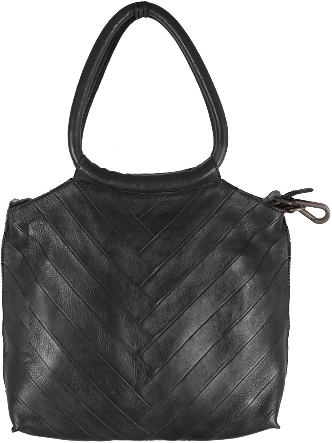 the black bag with two carry handles
