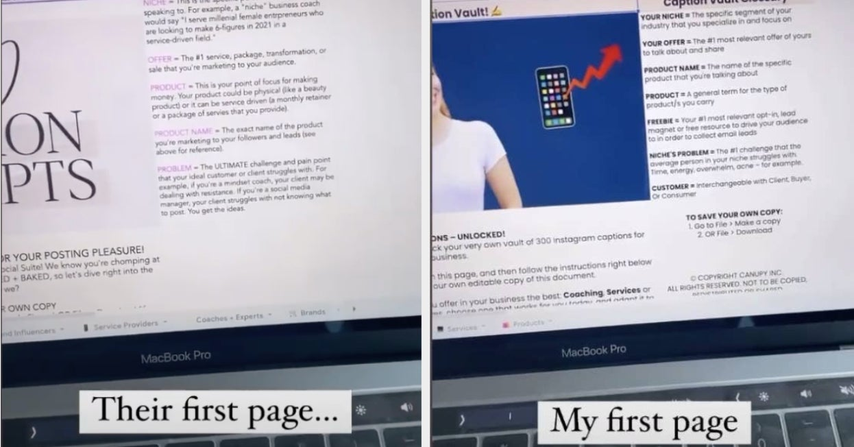 www.buzzfeed.com: Influencer Brand With Honors Is Accused Of Plagiarism