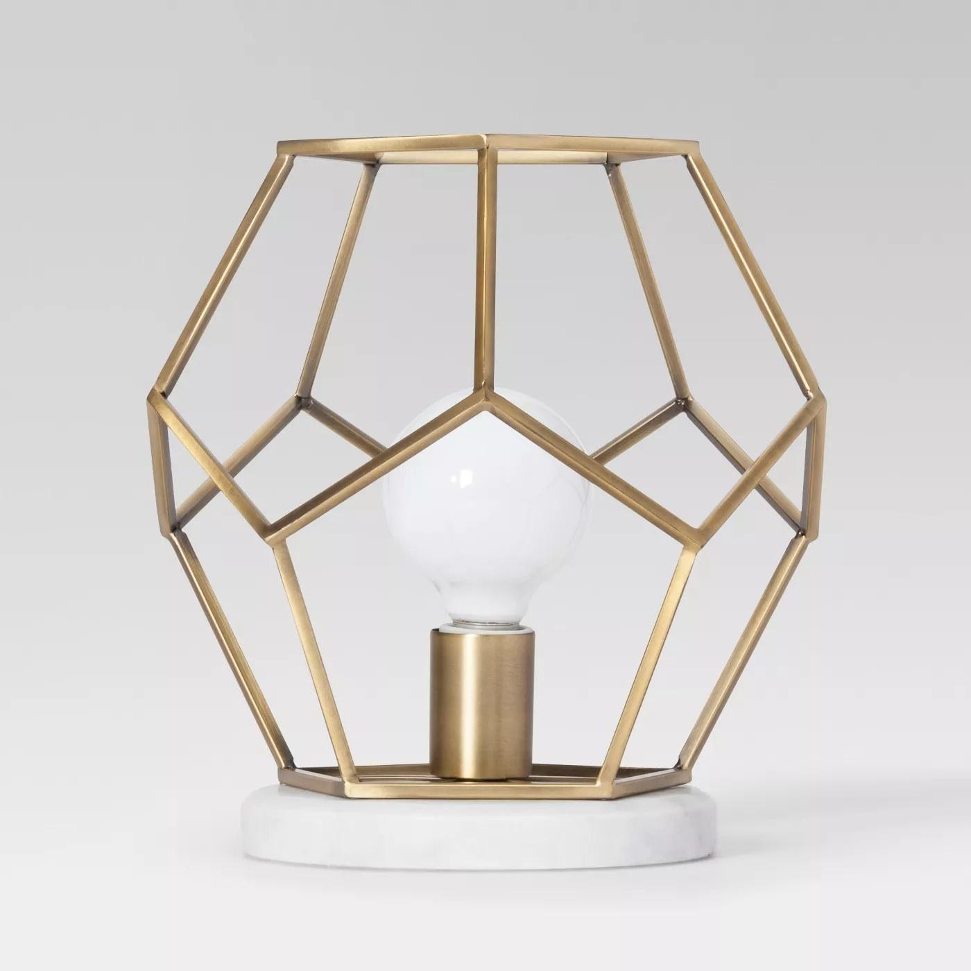 An accent lamp