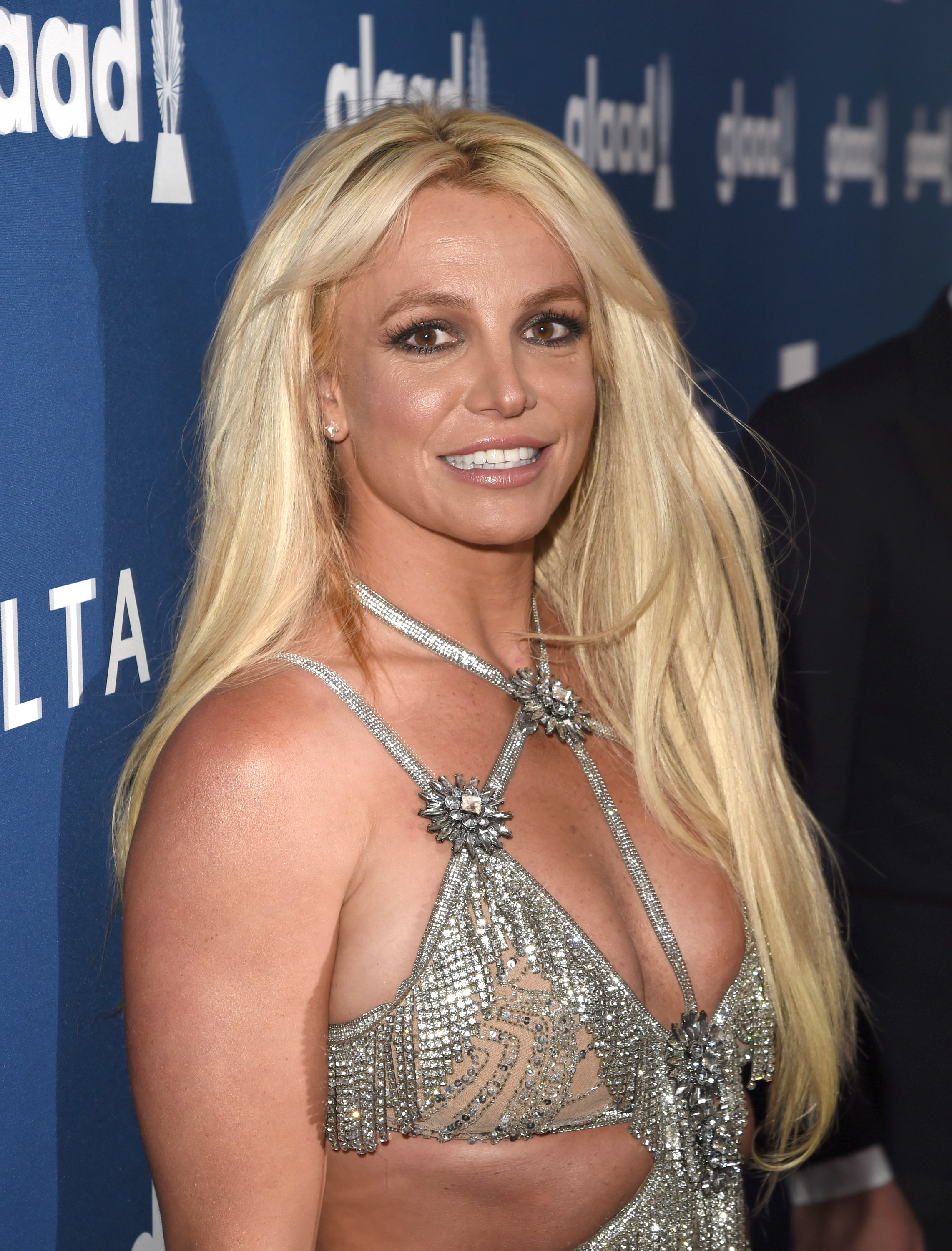 Britney Spears at the GLAAD Media Awards in 2018