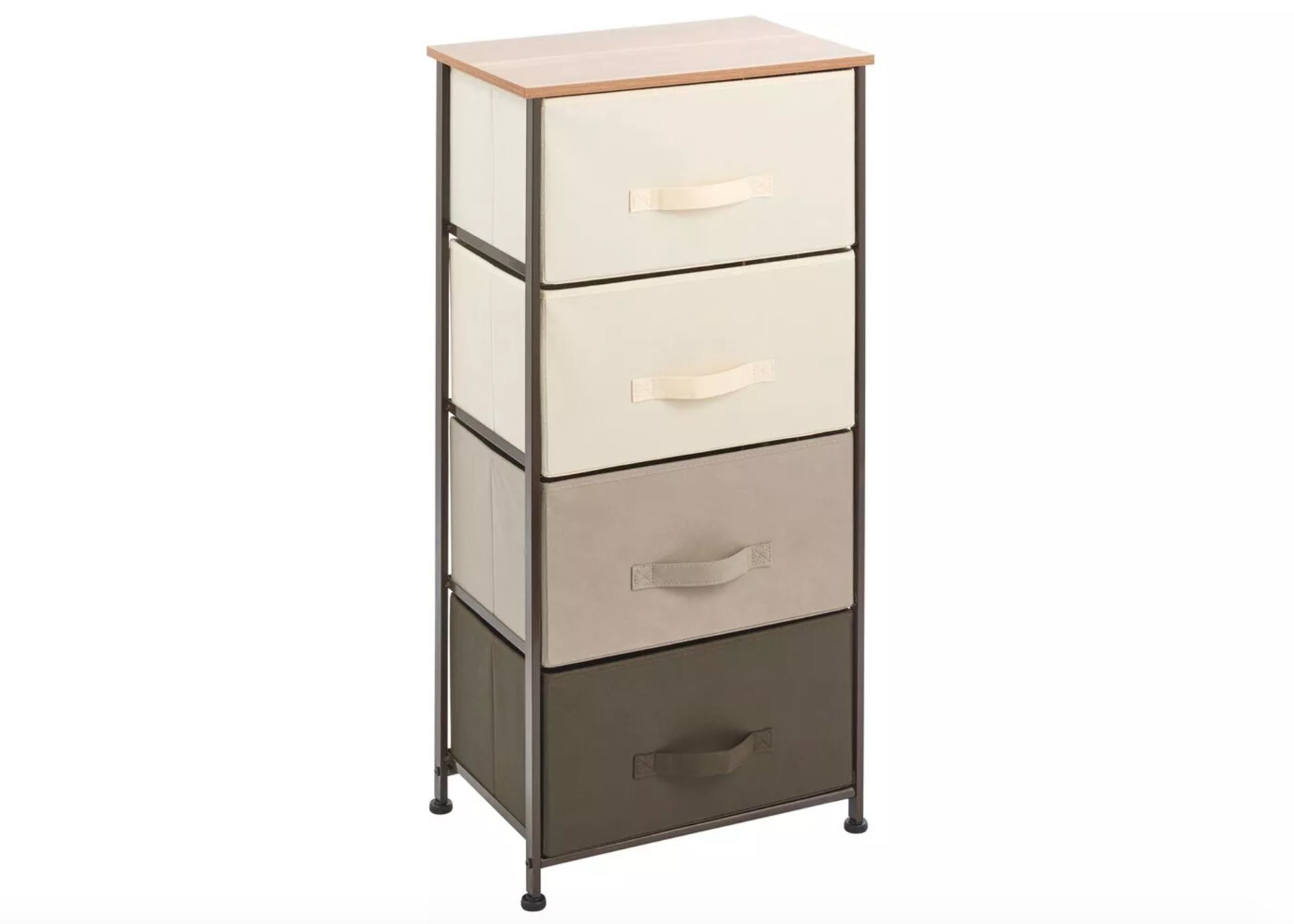 The vertical dresser with four drawers