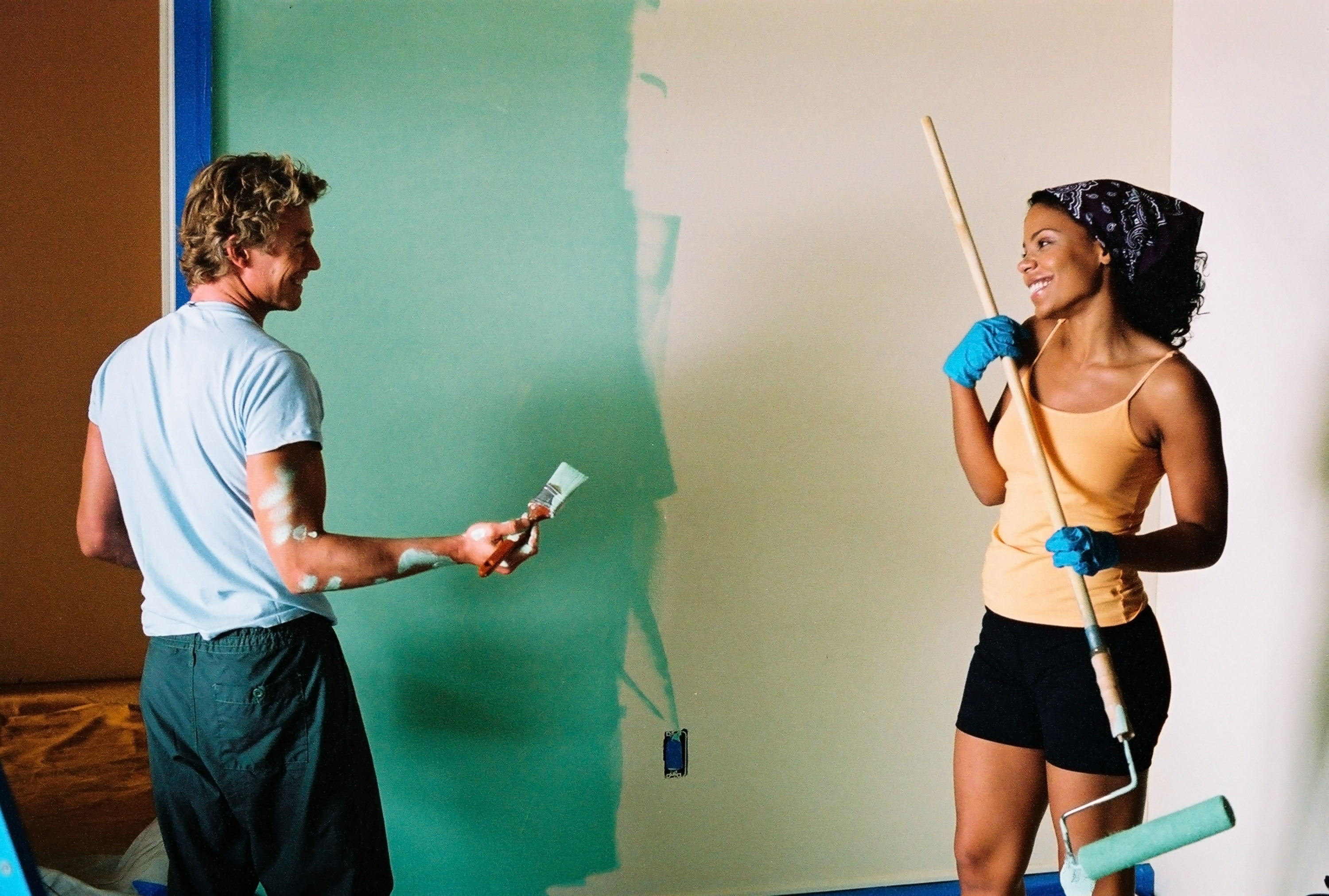 """Sanaa Lathan and Simon Baker in """"Something New"""""""