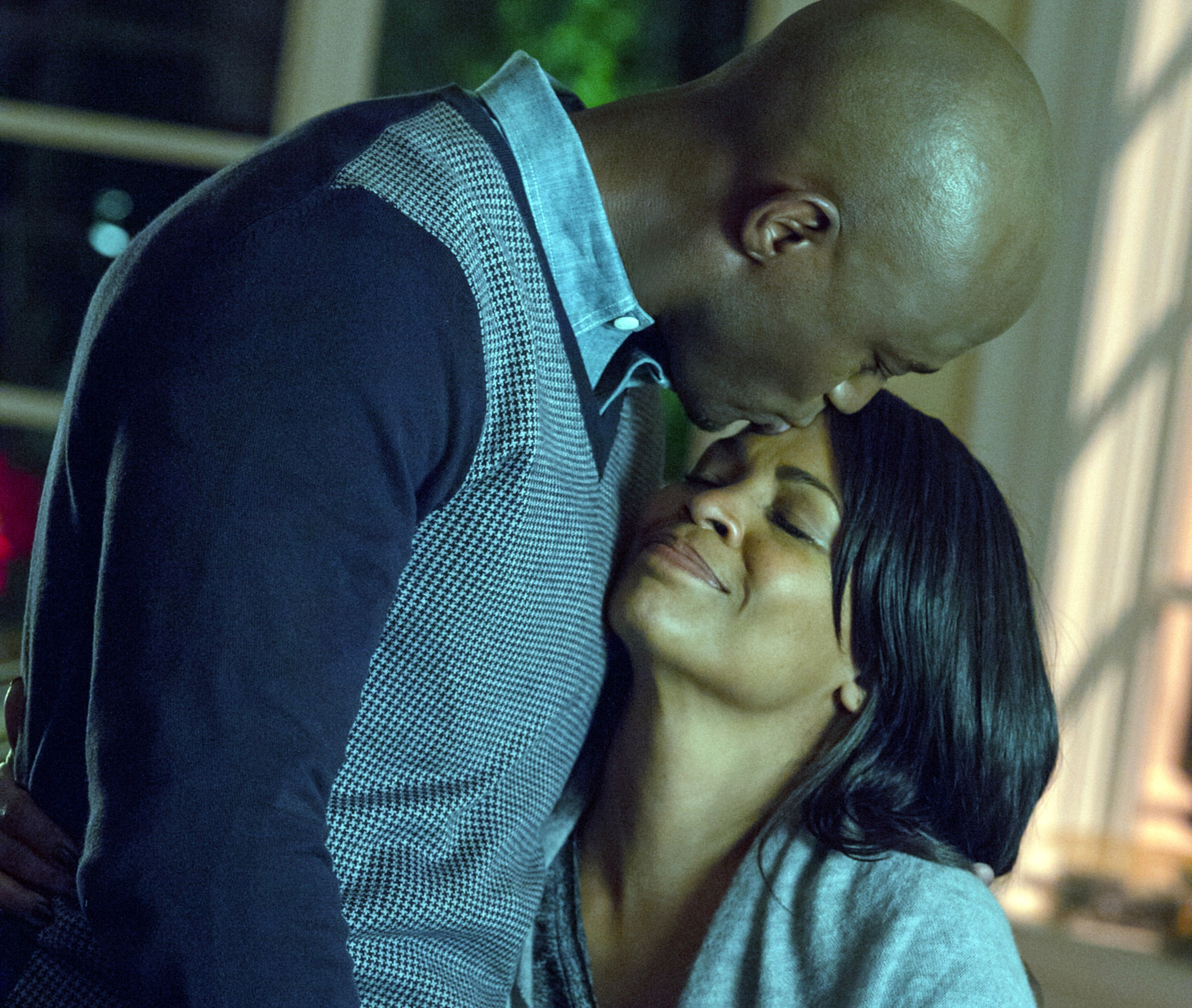 """Taye Diggs and Nia Long in """"The Best Man Holiday"""""""