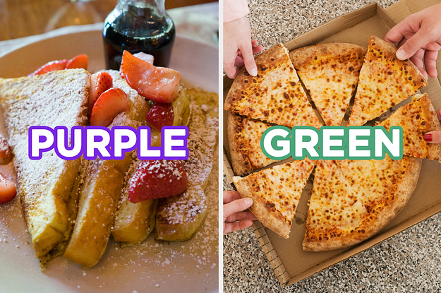 I Know This Sounds Fake, But We Can Guess Your Favorite Color Based On What You Order At This All-Day Buffet