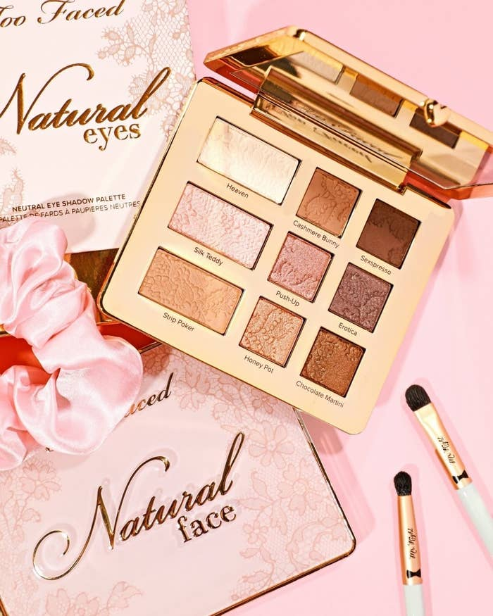 the natural eyes eyeshadow palette