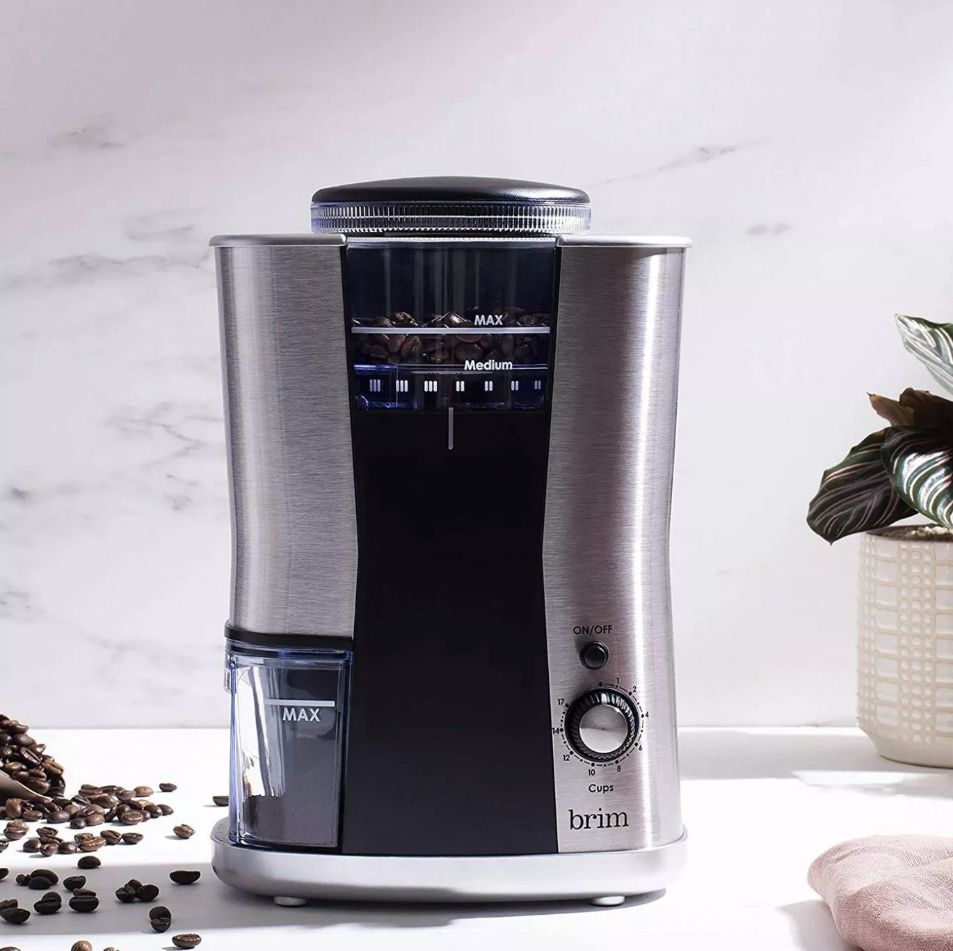 The conical burr grinder