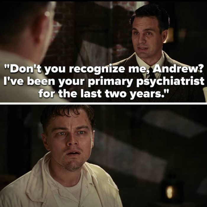 Lester tells Andrew/Teddy he's his psychiatrist