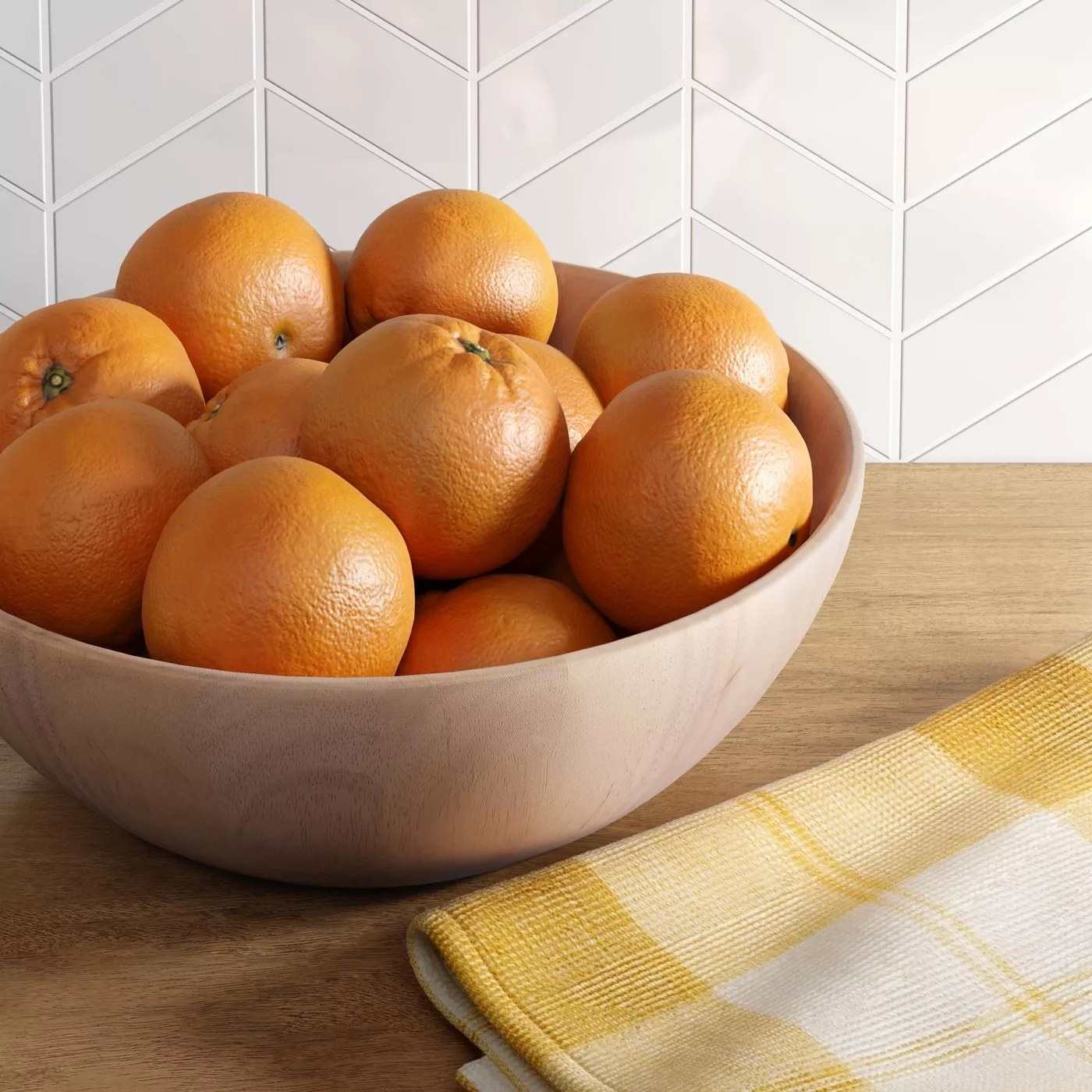 serving bowl on countertop
