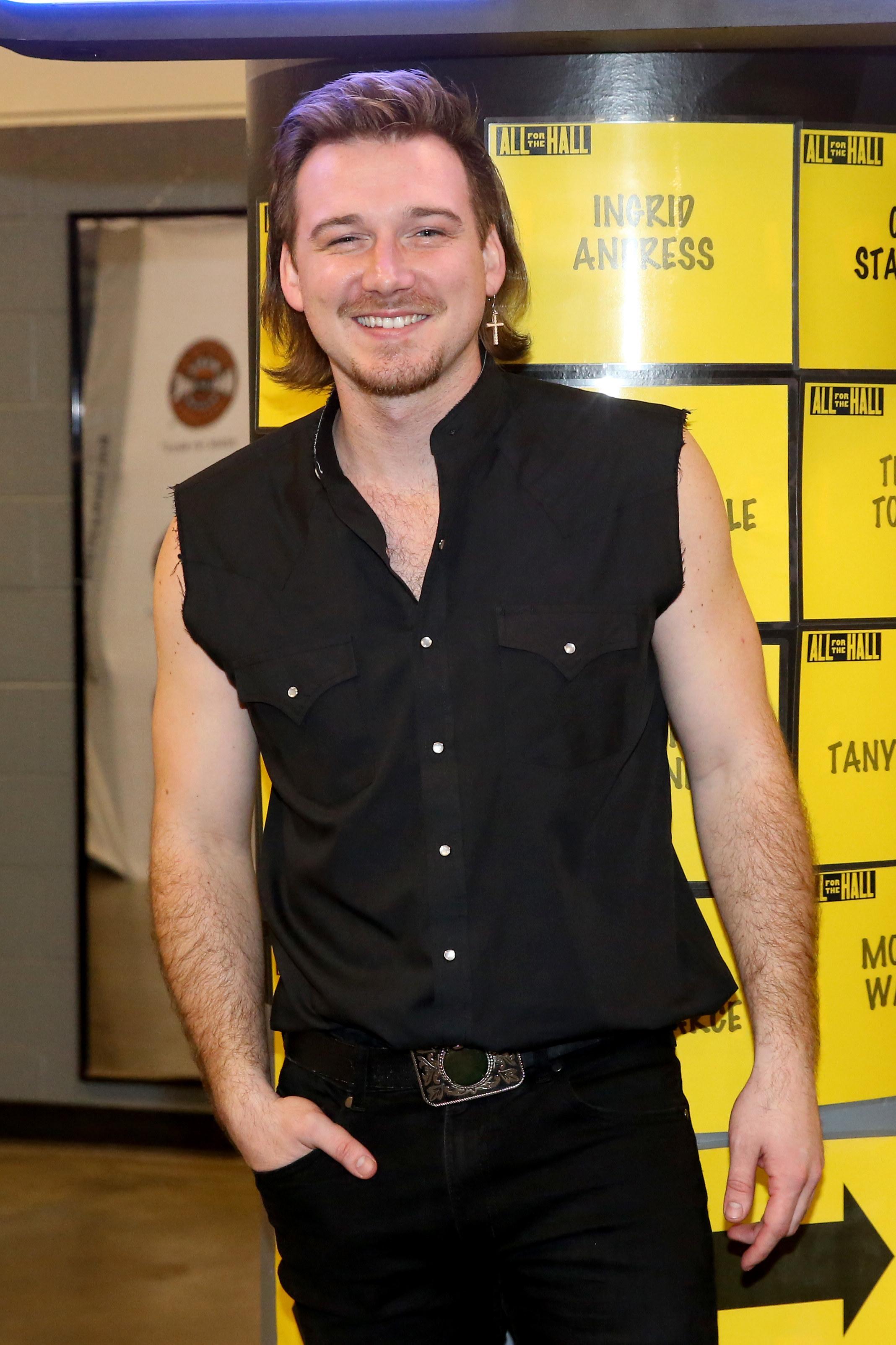Morgan Wallen at the Bridgestone Arena in Nashville