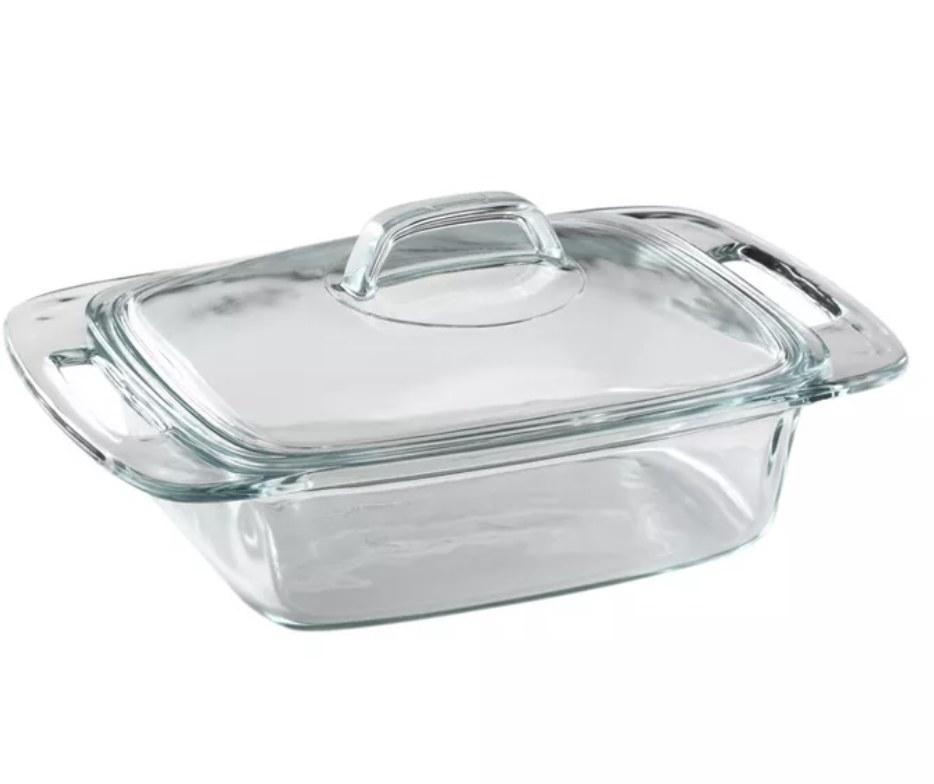 the pyrex dish