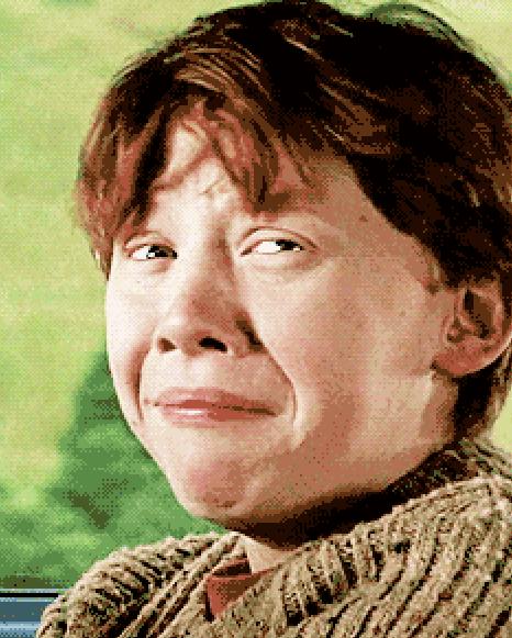 Nervous Ron Weasley