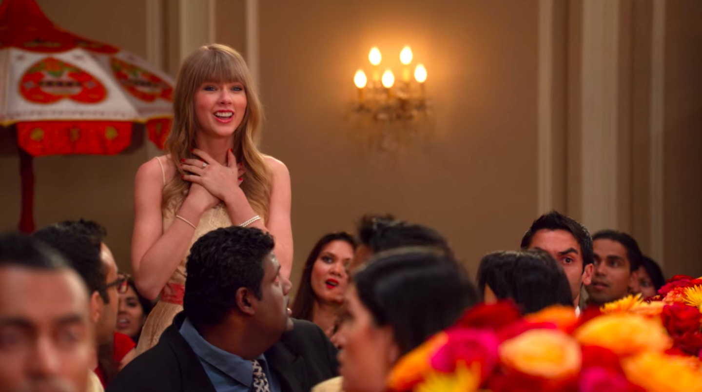"Taylor Swift's character on ""New Girl"" is happy"