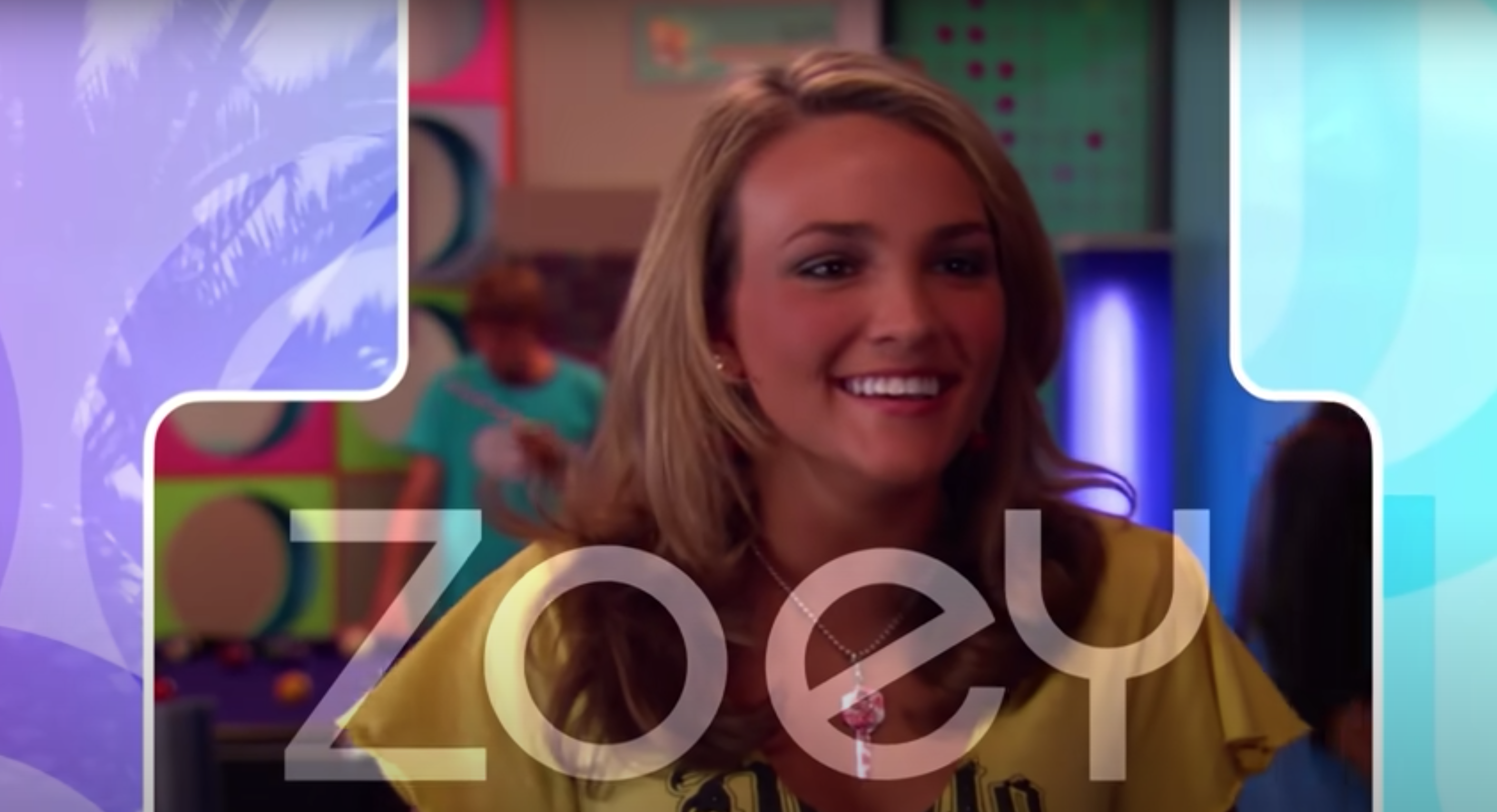 A still of the intro to Zoey 101