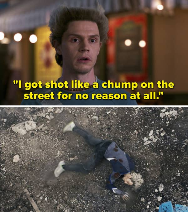 """Pietro says """"I got shot like a chump on the street for no reason at all"""""""