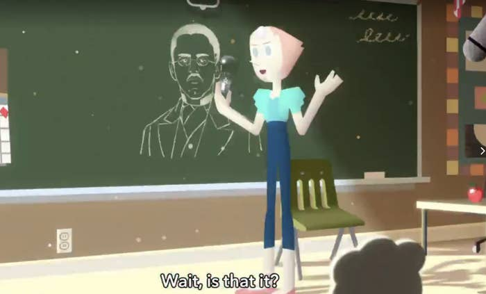 """pearl saying """"wait, is that it?"""""""