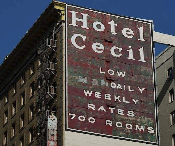 Image of the Cecil Hotel as it stands in 2013