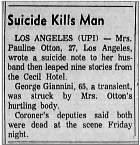 A news clipping from the Corvallis Gazette-Times