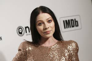 Michelle Trachtenberg at the Elton John AIDS Foundation Academy Awards Viewing Party in West Hollywood