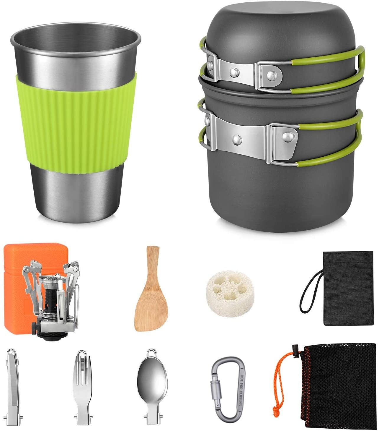 the various things in the mess kit