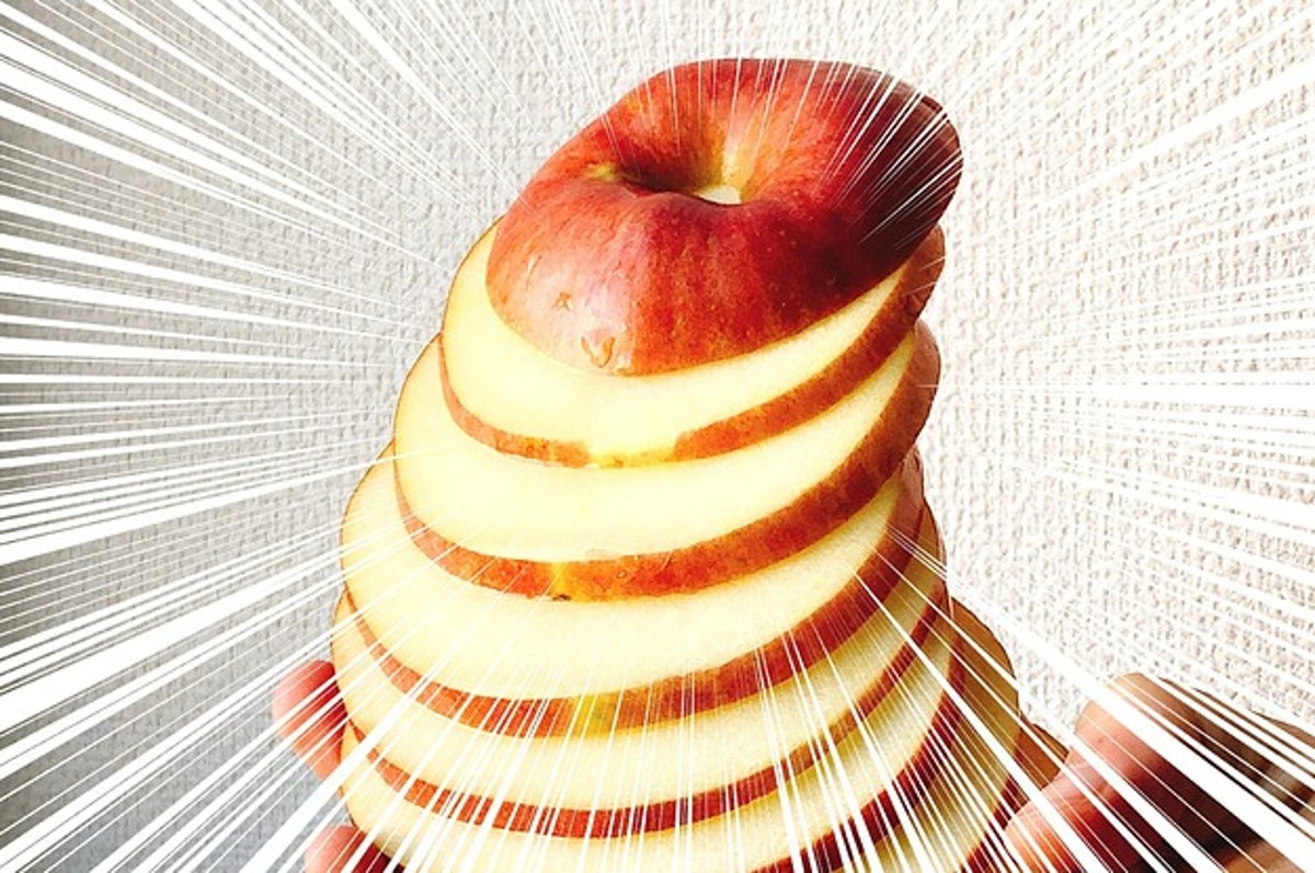 スター カット りんご