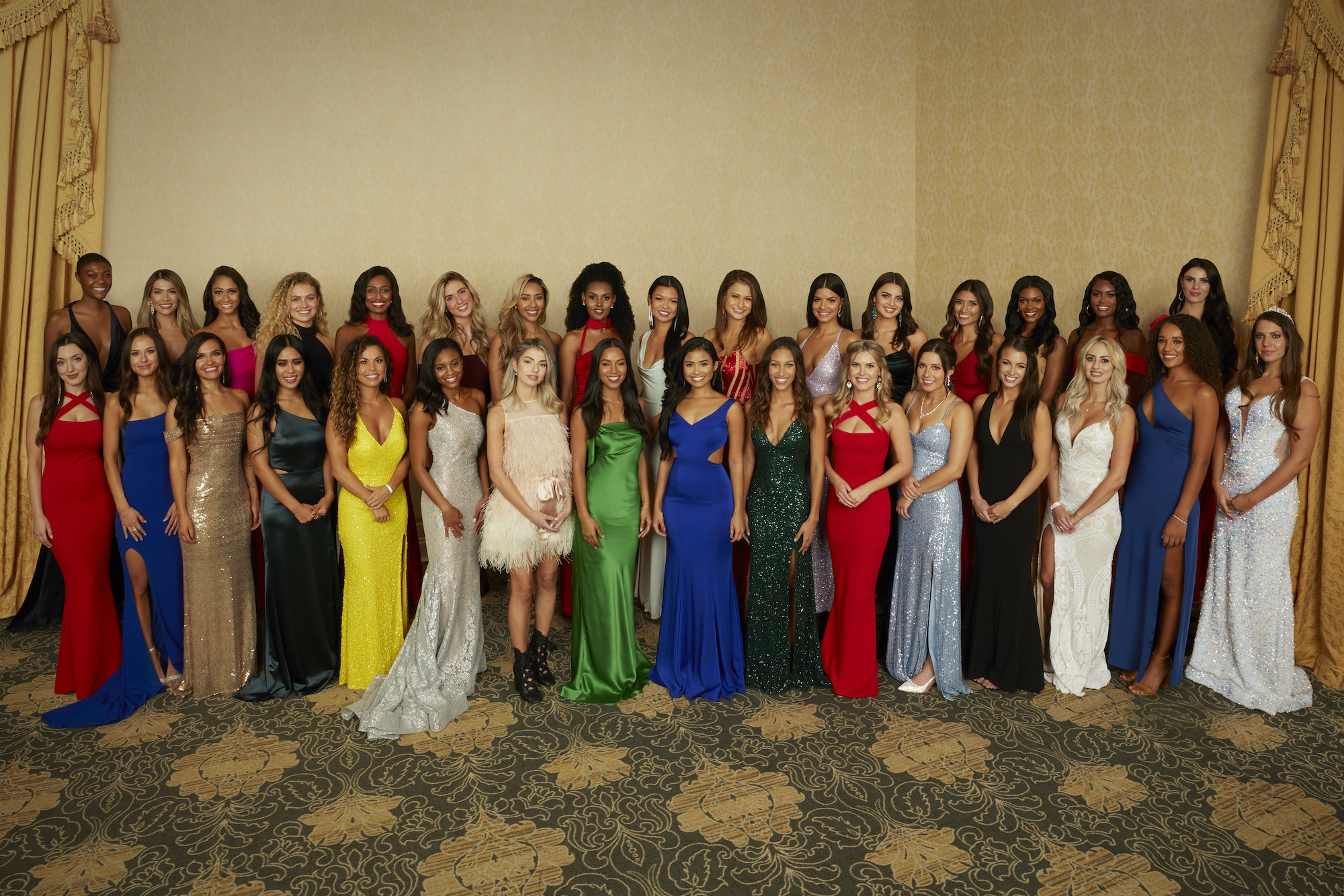 The contestants on season 25 of The Bachelor