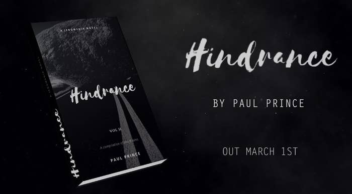 """""""Hindrance"""" , the name of Paul Prince newest book. What is it about?"""