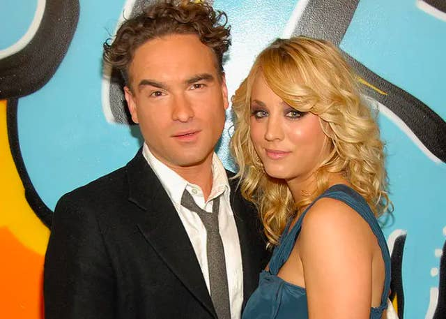 Wife johnny galecki Who is