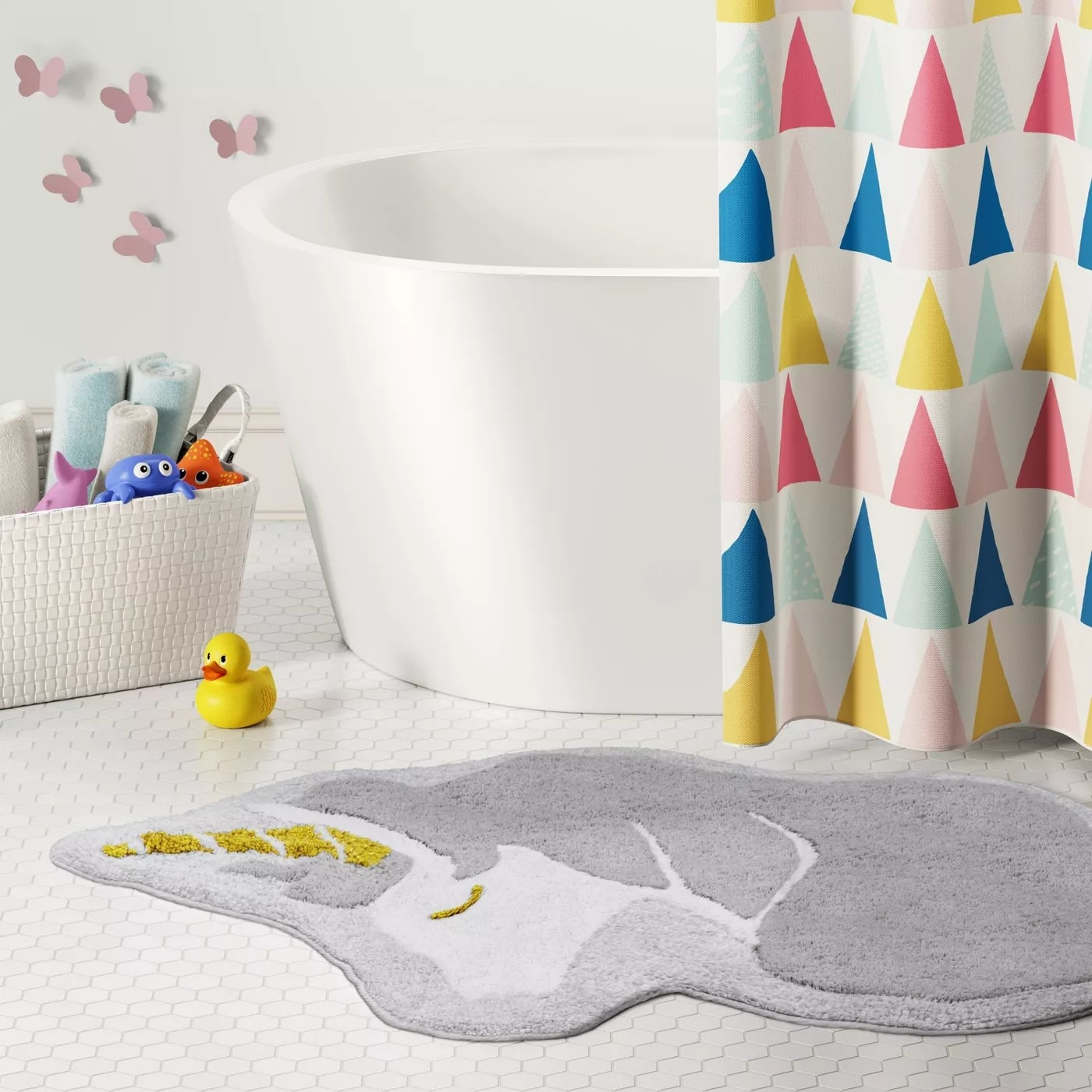 The unicorn bath rug