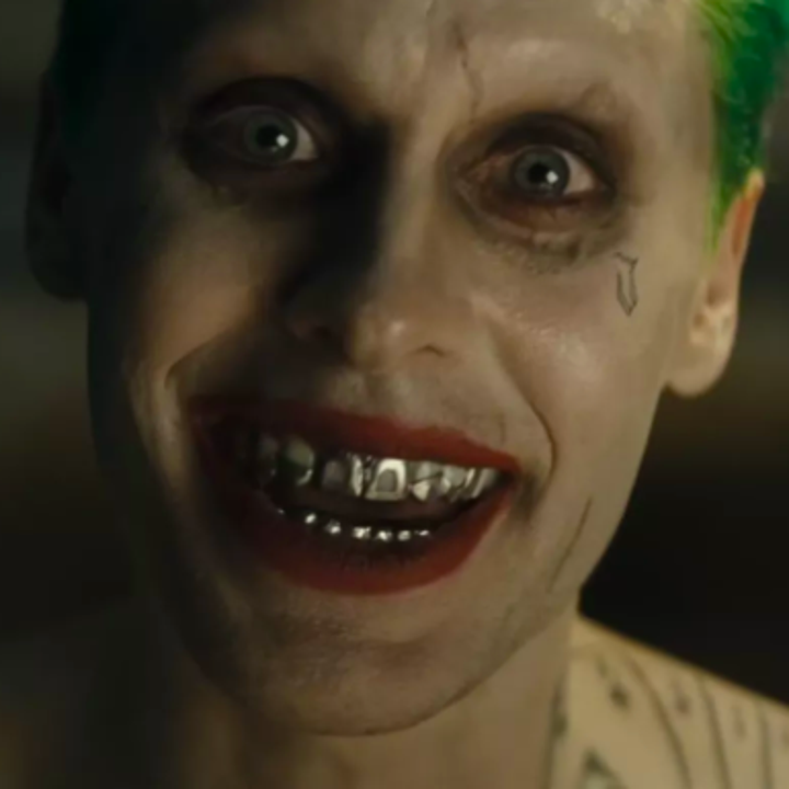 "Jared Leto's tattooed Joker in ""Suicide Squad"""