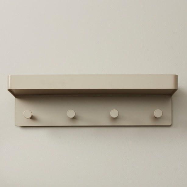 The wall hook shelf