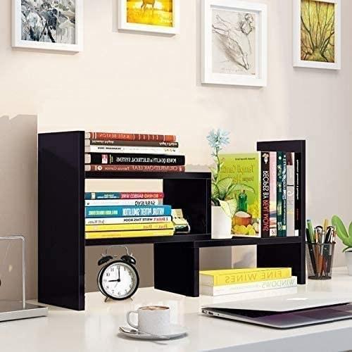 The wooden desktop organizer