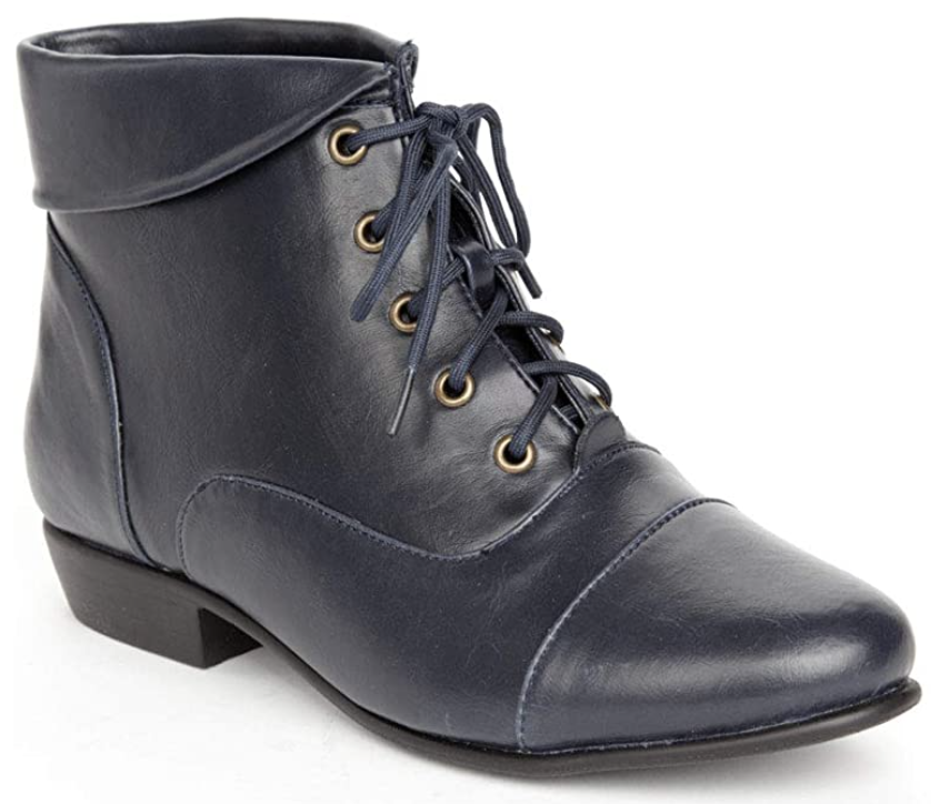 darcy boots in navy