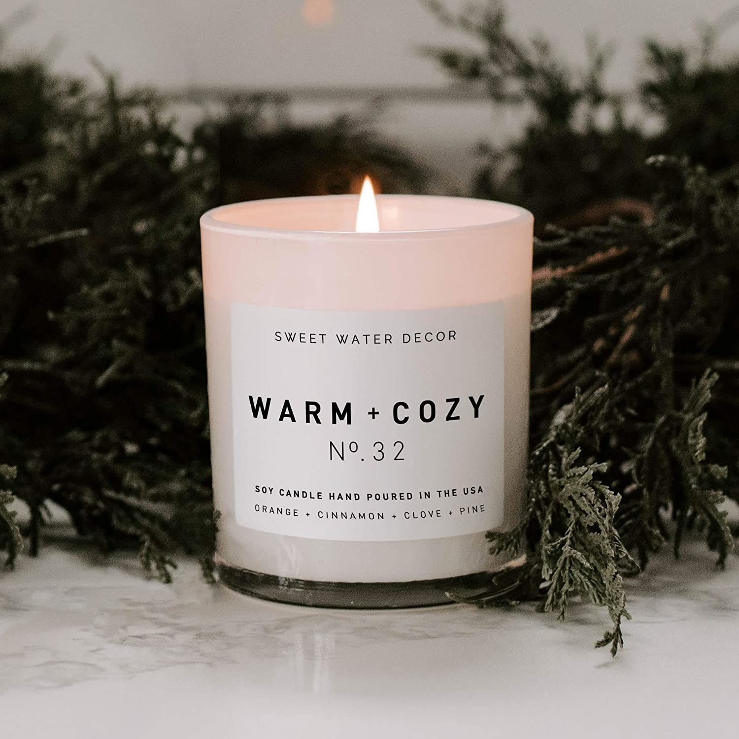 The Warm + Cozy candle