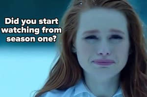 """Madelaine Petsch as Cheryl Blossom in the show """"Riverdale."""""""