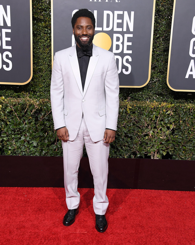 John David Washington at the 76th Annual Golden Globe Awards
