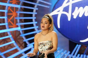 Claudia Conway auditions on American Idol