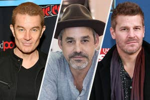 James Marsters, Nicholas Brendon, and David Boreanz