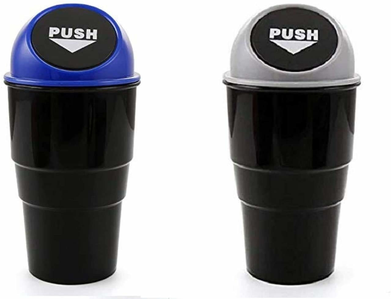 Two mini trash cans