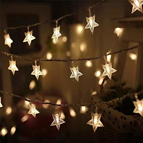 Starry lights on a string