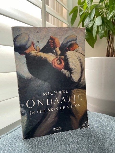 The cover of Michael Ondaatje's In The Skin Of A Lion