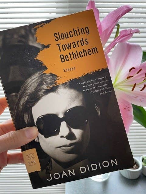 The cover of Joan Didion's Slouching Towards Bethlehem